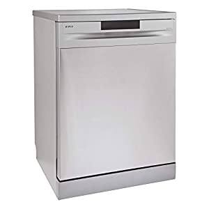 Elica 12 Place Settings Dishwasher With Soft Touch Control Panel (FREE STANDING DISH WASHER WQP12-7605V, Stainless Steel…