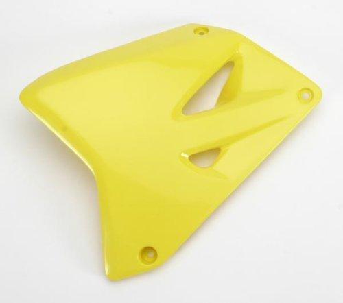 (UFO SU03969-102 Replacement Plastic (for Suzuki RAD Cover RM85 N Yellow))