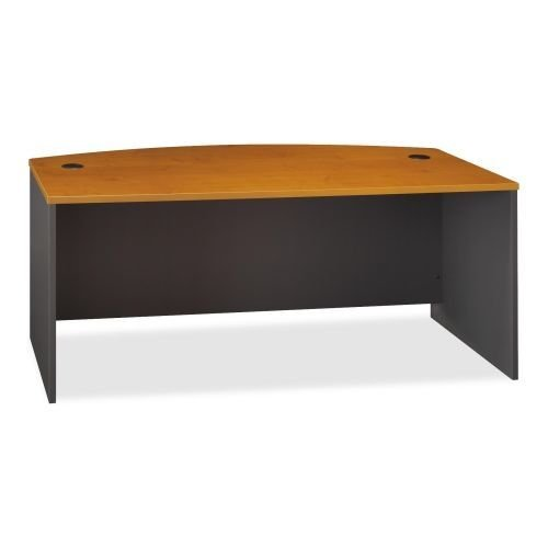 Series C Bow Front Desk Shell Finish: Natural Cherry