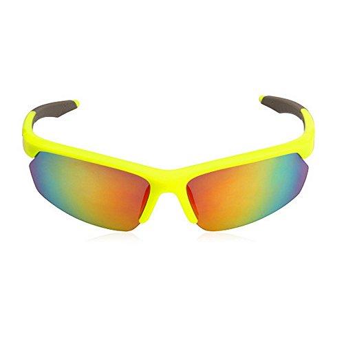 De Gafas Hombre Color Gafas LBY Negro Mujeres De para Deportivas Y Sol Sol Gafas para Hombres Montar Sol Amarillo de q5axf7wa
