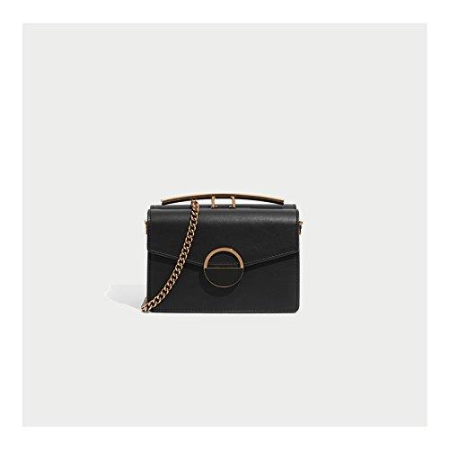 Black Shoulder Chains Fashion Fashion Small Satchel Single Fairies Wxin Bag Women's 1xaCHq