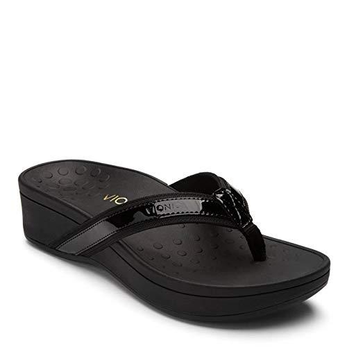 Vionic Women's, High Tide Platform Sandal Black 7 W