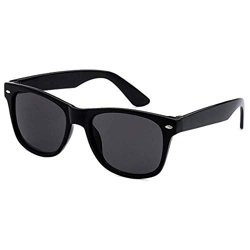 Kids Sunglasses Black Vintage Wayfarers for Children Boys & Girls with UV400 Protection (Ages 3-10) - Thacher's Nook (Kid Sunglass Pack)