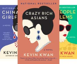Kevin Kwan Crazy Rich Asians Trilogy Collection 3 Books Set Pack (Crazy Rich Asians, China Rich Girlfriend, Rich People Problems) ()