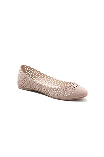 ShuShop Womens Kavi-9 Ballerina Flat Shoes Black 3OeA8mTu