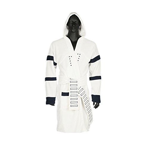 [XCOSER Bathrobe Stormtrooper Costumes Robe Luxury Clothing 2016 Size M] (Storm Costume Cosplay)