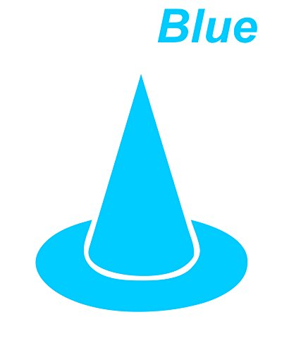 Blue Seal cutting Dunce cap Hat Pointed Sticker
