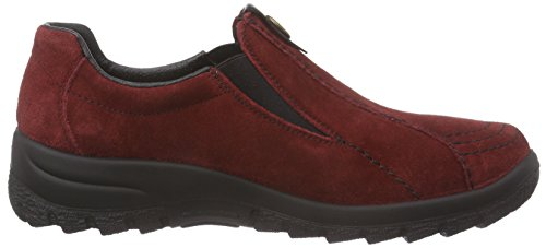 Pantofola Rossa Rieker L7171 (vino / Nero / 35)