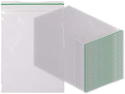 Greenline - Bolsas de cierre con cremallera (100 unidades, 3 x 4 ...