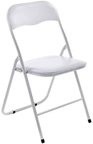 ORIZZONTE Sedia Polo Total Color Bianca PVC