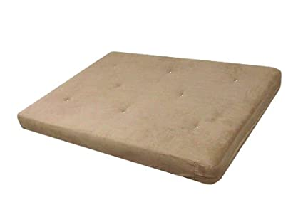 dhp 6 inch futon mattress tan amazon    dhp 6 inch futon mattress tan  kitchen  u0026 dining  rh   amazon