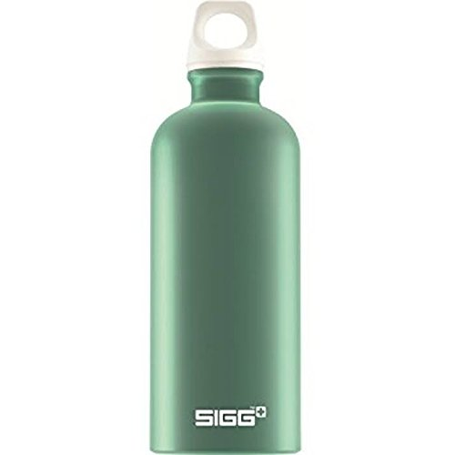 Sigg Elements Wood Water Bottle, Teal/Green