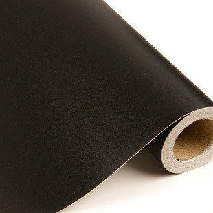 Vinilo negro mate, alta calidad, para interior y exterior. medida 60x150cm