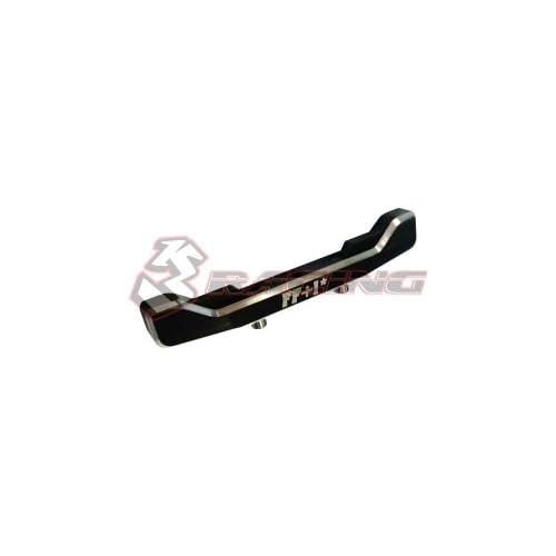 3RACING Integy RC Model Hop-ups SAK-U402/V2/BK 7075 Aluminum Front Suspension Mount FF+1 Ver.2