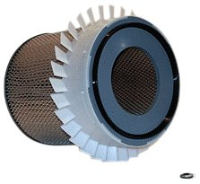 WIX Filters - 42237 Heavy Duty Air Filter W/Fin, Pack of 1