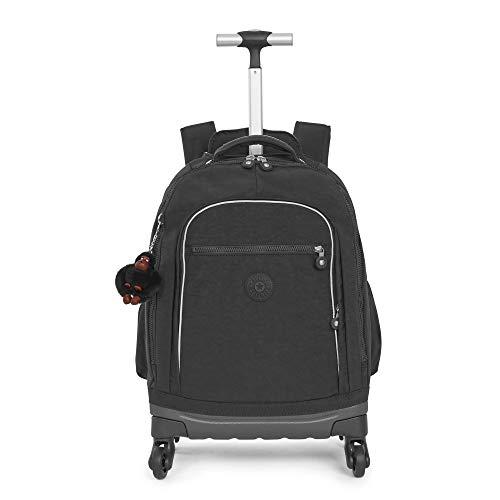 Kipling Luggage Echo ll Wheeled Backpack, Black Tonal