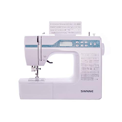 Electronic Sewing and Quilting Machine with 200 Built-in Stitches