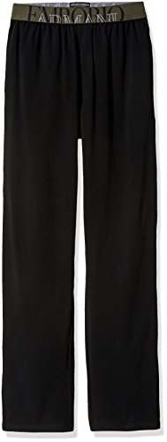 Emporio Armani Men's The Big Eagle Trousers, Black, S by Emporio Armani