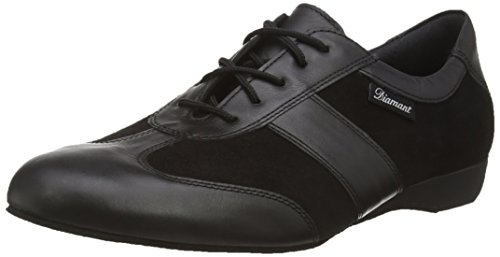 Diamant Men's Model 123 Dance Sneaker- 1'' (2.5 cm) Wedge Heel (Wide - H Width), 10.5 W US (10 UK) by Diamant