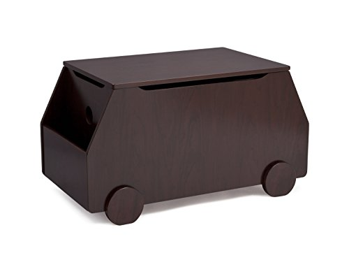 Delta Children Metro Toy Box, Black Cherry Espresso by Delta Children