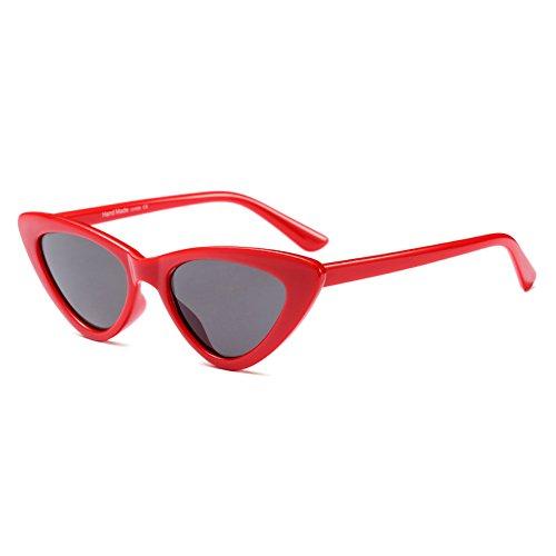 Gafas redondo hibote C3 Glasses sol Hombres Mujeres Eyewear UV400 Retro de C6 YUxBw0q