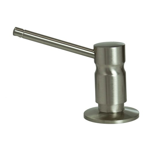Barclay I5589-BN Solid Brass Soap/Lotion Dispenser in Brushed Nickel, by Barclay