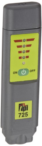 TPI 725 Pen Style Pocket Combustible Gas Leak Detector, LED Display, 1000 ppm Sensitivity, 2 x AAA Batteries, 32 to 104 Degree F