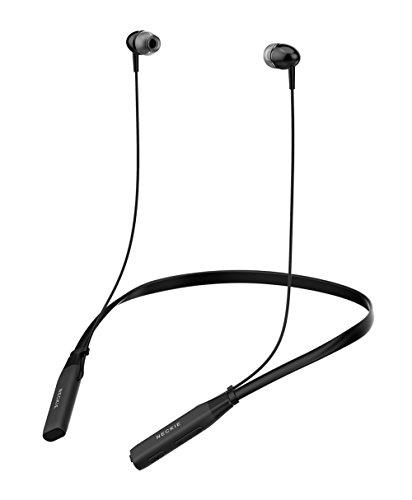 bluetooth headset xtonek wireless neckband headphones ipx5 waterproof lightweight around neck. Black Bedroom Furniture Sets. Home Design Ideas