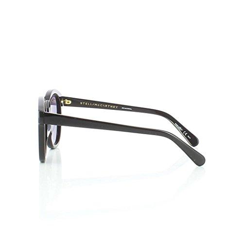 Sc0013S 001 WomenS Black Sunglasses With Grey Lenses