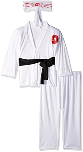 RG Costumes Karate Boy Costume, White, Medium -