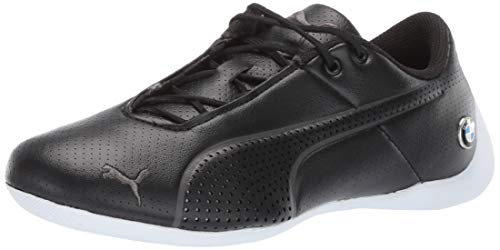 PUMA Men's BMW MMS Future Cat Ultra Sneaker, Black Whit, 10.5 M US