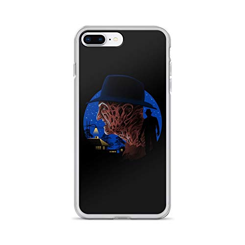 iPhone 7 Plus/8 Plus Case Anti-Scratch Motion Picture Transparent Cases Cover Nightmare of Death Movies Video Film Crystal Clear -