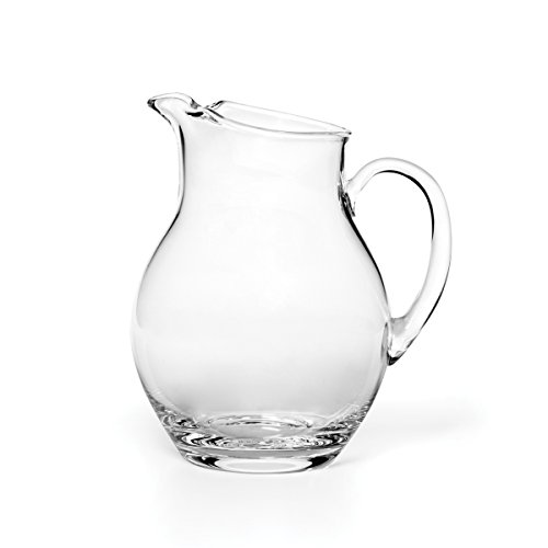 Mikasa Napoli Pitcher, 80-Ounce (Pitcher Lid Water Crystal With)