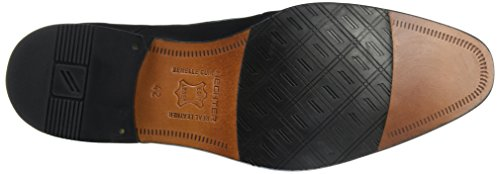 Daniel Hechter 811218011000, Zapatos de Cordones Derby para Hombre Negro - Schwarz (Schwarz 1000)