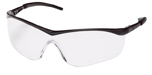 Pyramex Mayan Safety Glasses Black with Clear Lens - MS97190 (144)