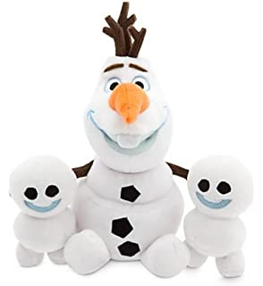 Disney Olaf and Snowgies Plush Bundle - Mini Bean Bag - 8 - Frozen