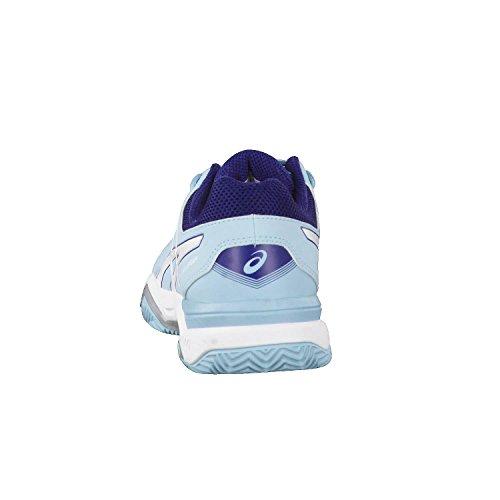 Chaussures Scuro Bleu Tennis Gel Asics Blu 11 Femme rosa De Clair challenger Clay aYn8PnIq