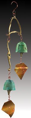 Harmony Hollow Wedding Bronze Wind Bell by Harmony