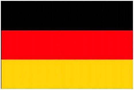 mondial-fete – bandera gigante Alemania en poliéster de 90 x 150 cm