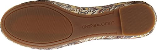 Multi Emmie Brown Ballet Flat Women's Lucky pY0qX8