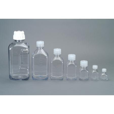 Nalgene Transparent Lexan Square Storage Bottle 2 oz.