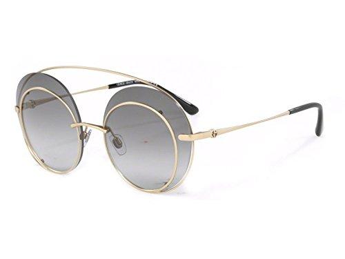 Giorgio Armani Women's 0AR6043 Bronze/Violet Gradient - Armani Giorgio Gold Sunglasses