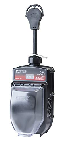 Portable RV Surge Protector Portable EMS-PT30X RV Surge Protector (Progressive Ems Industries)