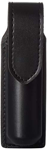 (Safariland Duty Gear MK4 Black Hidden Snap OC Pepper Spray Holder (Plain Black Hidden Snap))
