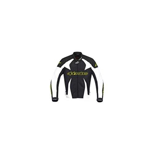 Alpinestars T-Gp Plus Textile Jacket Black White Yellow L/large
