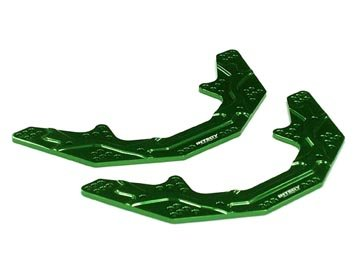 Integy RC Model Hop-ups C22776GREEN Alloy Main Chassis for AX10 Scorpion (Chassis Main Alloy)