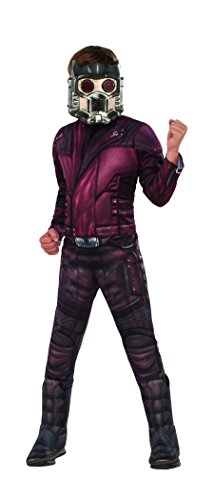 Star Costumes For Children (Guardians of the Galaxy Vol. 2 Deluxe Muscle Chest Star-Lord Costume, Large)