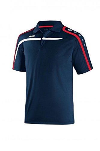 JAKO Camiseta Polo Performance verde deportivo/blanco/negro