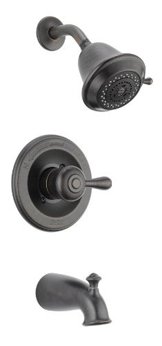 Delta Faucet T14478-RBSHCCER Leland Monitor 14 Series Tub and Shower Trim, Venetian Bronze