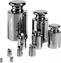 Adam Equipment ASTM Class 2 Stainless Steel Calibration Weight, 1000g Mass